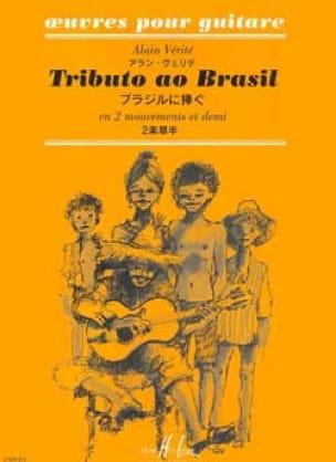 Alain Vérité - Tributo ao Brazil - Partition - di-arezzo.co.uk