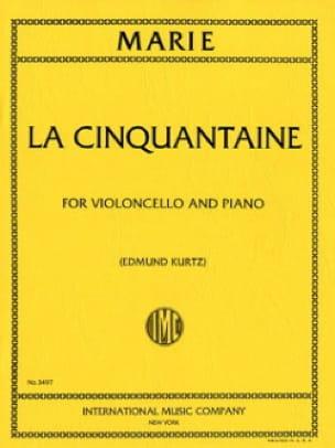 Gabriel-Marie - Años cincuenta - violonchelo - Partition - di-arezzo.es