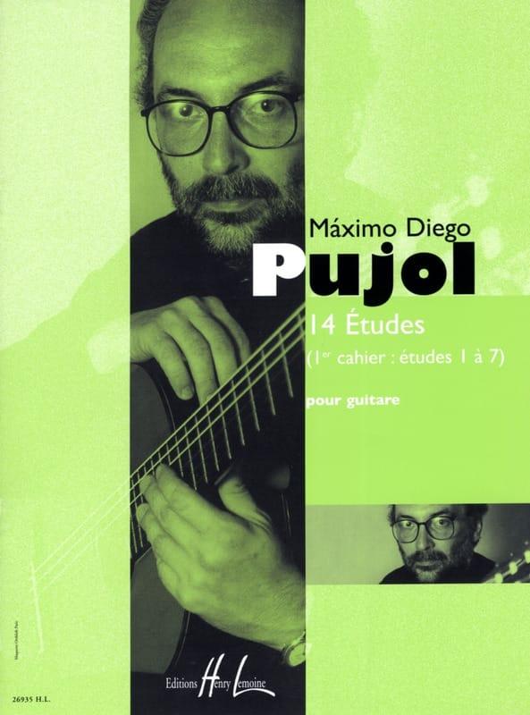 14 Etudes 1er Cahier - Maximo Diego Pujol - laflutedepan.com