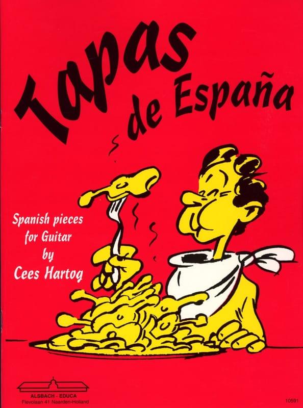 Tapas de Espana - Cees Hartog - Partition - Guitare - laflutedepan.com