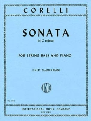 Sonata in C minor - String bass - CORELLI - laflutedepan.com