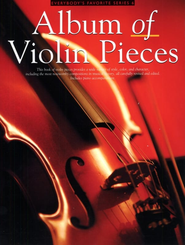 Album of Violon Pieces - Partition - Violon - laflutedepan.com