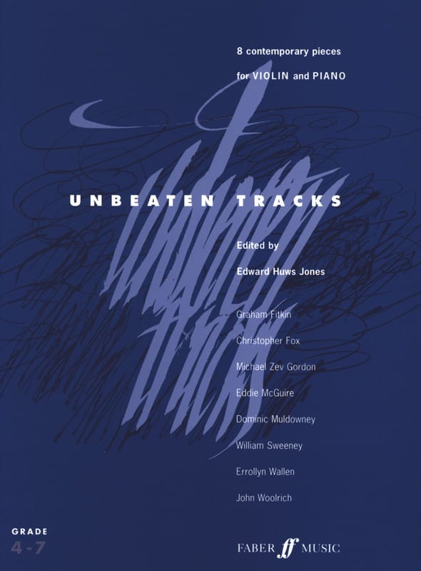 Jones Edward Huws - Unbeaten Tracks - Violin - Partition - di-arezzo.co.uk