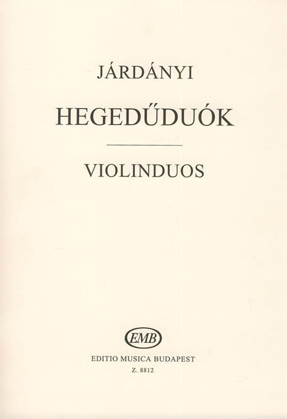 Violinduos - Pal Jardanyi - Partition - Violon - laflutedepan.com