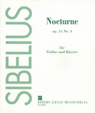 Jean Sibelius - Nocturne op. 51 n ° 3 - Partition - di-arezzo.co.uk