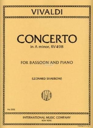 Concerto In A Minor Rv 498 F. 8 N°2 - VIVALDI - laflutedepan.com