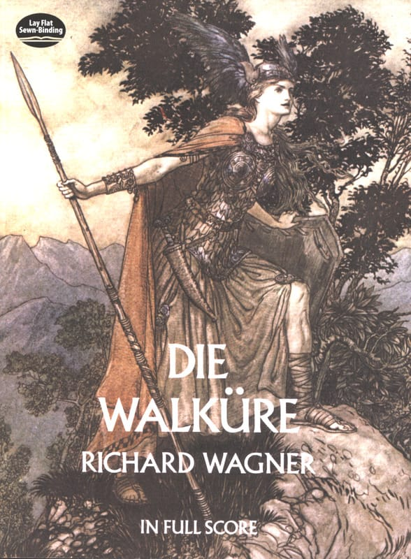 La Walkyrie - WAGNER - Partition - Grand format - laflutedepan.com