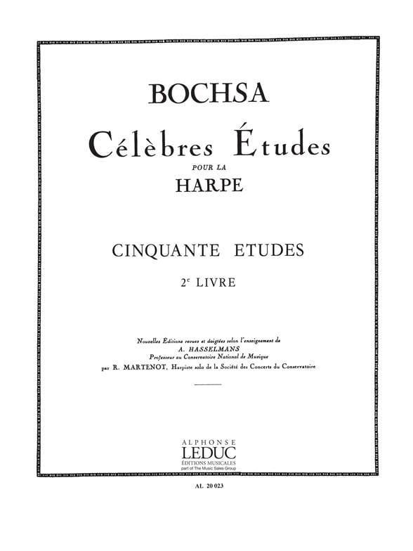 Charles Bochsa - 50 Etudes op. 34 - Book 2 - Partition - di-arezzo.com