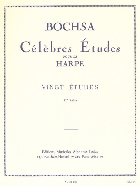 Charles Bochsa - 20 Studies - 1st suite - Partition - di-arezzo.com