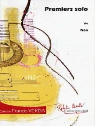 Premiers solos - Néo - Partition - Guitare - laflutedepan.com