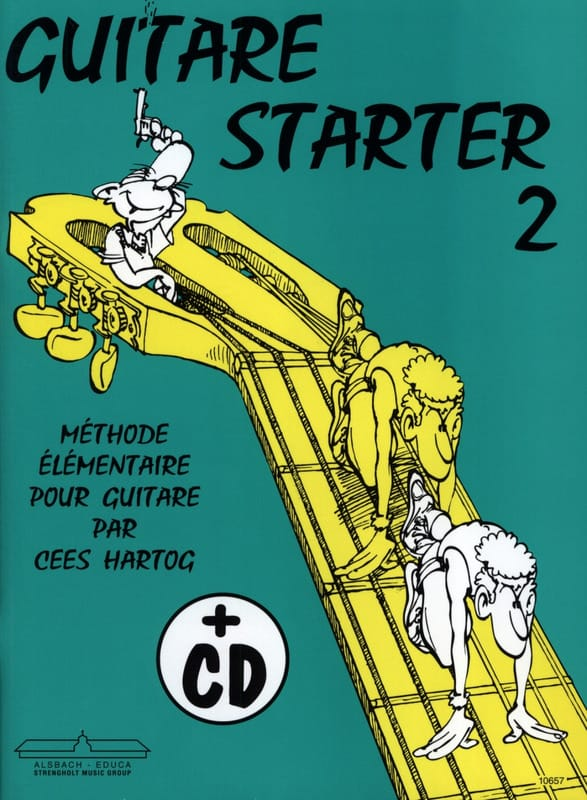 Cees Hartog - Guitar starter - Volume 2 - Partition - di-arezzo.co.uk