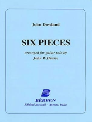 John Dowland - 6 Pieces - Partition - di-arezzo.com