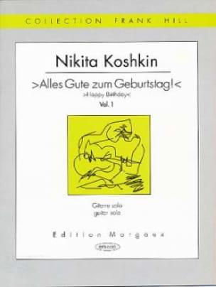 Nikita Koshkin - Alles Gute Zum Geburstag - Vol 1 - Partition - di-arezzo.com