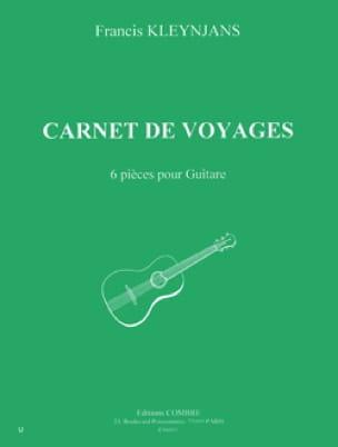 Carnet de voyage - Francis Kleynjans - Partition - laflutedepan.com