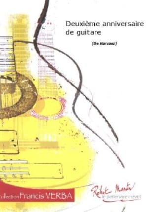 2ème Anniversaire de guitare - José-Luis Narvaez - laflutedepan.com