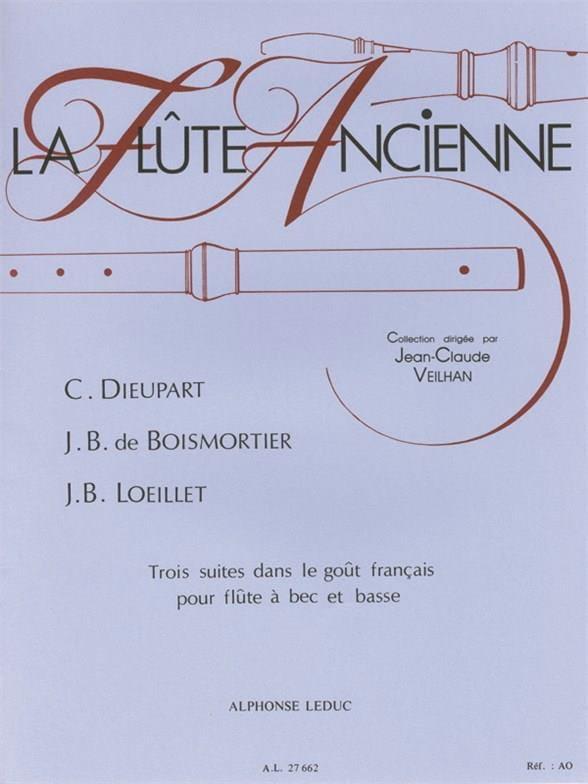 3 Suites dans le goût français pour flûte à bec et basse - laflutedepan.com
