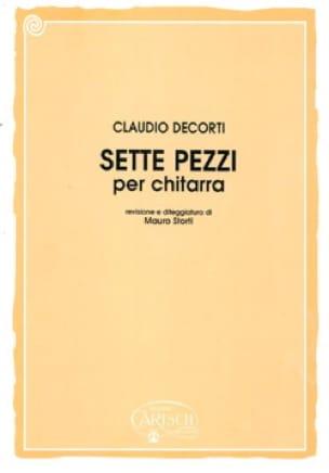 Sette pezzi -Chitarra - Claudio Decorti - laflutedepan.com