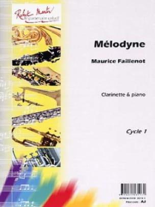 Maurice Faillenot - Melodyne - Partition - di-arezzo.com