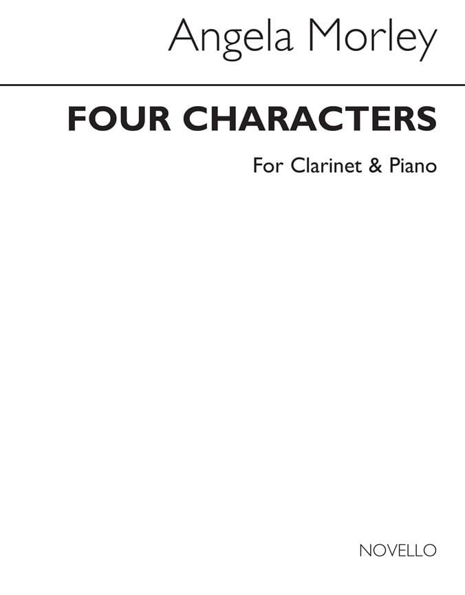Four Characters - Angela Morley - Partition - laflutedepan.com
