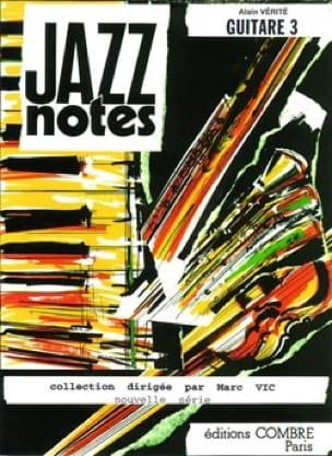 Jazz Notes - Volume 3 - Guitare - Alain Vérité - laflutedepan.com