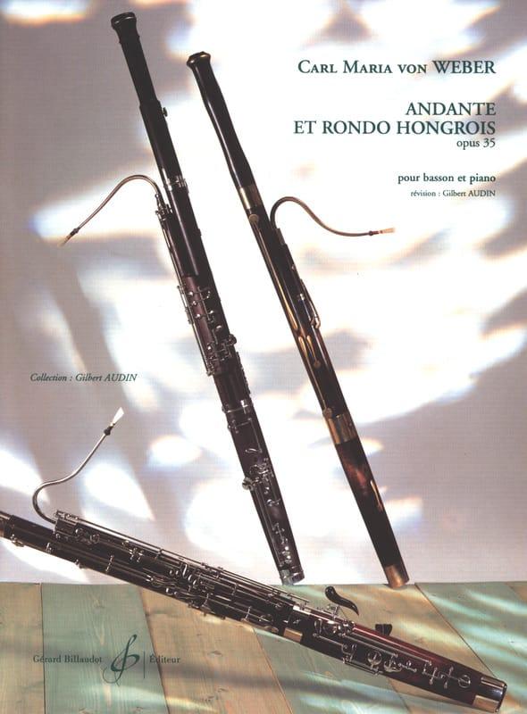 Carl Maria von Weber - Andante and Hungarian Rondo op. 35 Audin - Partition - di-arezzo.com