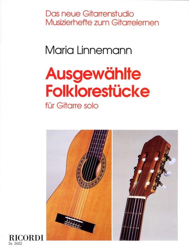 Maria Linnemann - Ausgewählte Folklorestücke - Partition - di-arezzo.co.uk