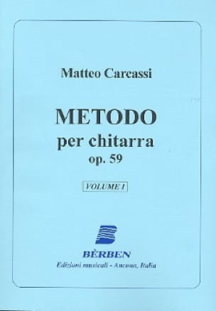 Metodo per chitarra op. 59 - Volume 1 - laflutedepan.com