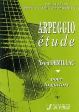 Yvon Demillac - Arpeggio study - Partition - di-arezzo.com
