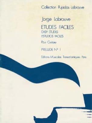Etudes faciles - Prélude n° 1 - Jorge Labrouve - laflutedepan.com