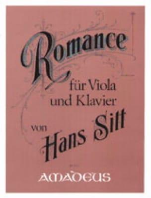 Romance Opus 72 - Hans Sitt - Partition - Alto - laflutedepan.com