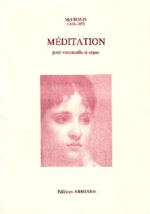 Mel Bonis - Meditation - Cello and ORGAN - Partition - di-arezzo.co.uk