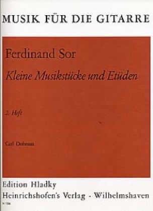 Kleine Musikstücke und Etüden - Heft 2 - SOR - laflutedepan.com