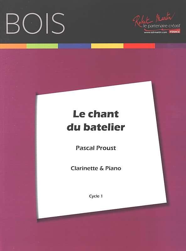 Le chant du Batelier - Pascal Proust - Partition - laflutedepan.com