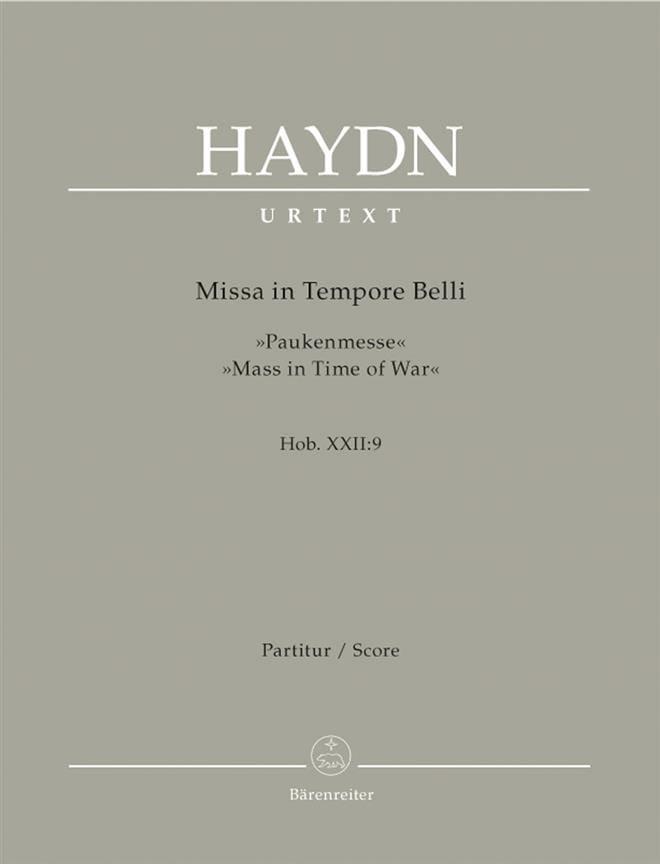 Missa in Tempore Belli - Hob. 22: 9 - Partitur - laflutedepan.com