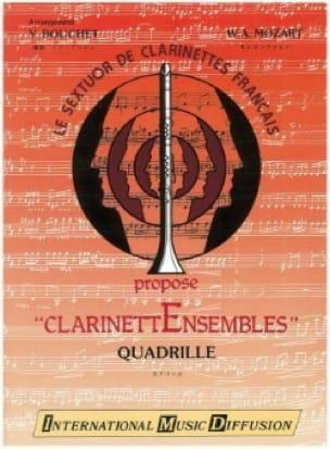 Quadrille - Clarinettes - MOZART - Partition - laflutedepan.com