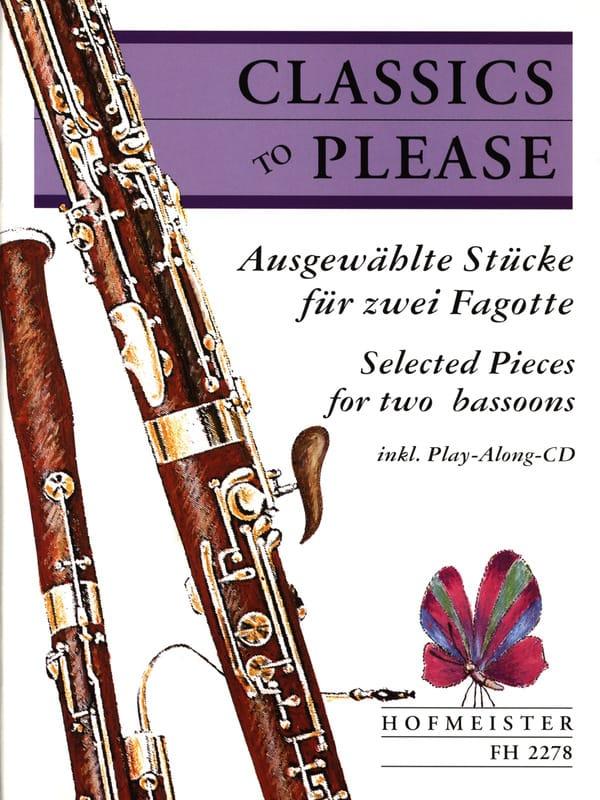 Classics To Please - 2 Fagotte - Partition - laflutedepan.com