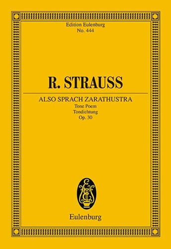 Richard Strauss - Also sprach Zarathustra - Partition - di-arezzo.co.uk