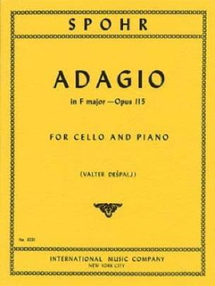Adagio en fa majeur, op. 115 - SPOHR - Partition - laflutedepan.com