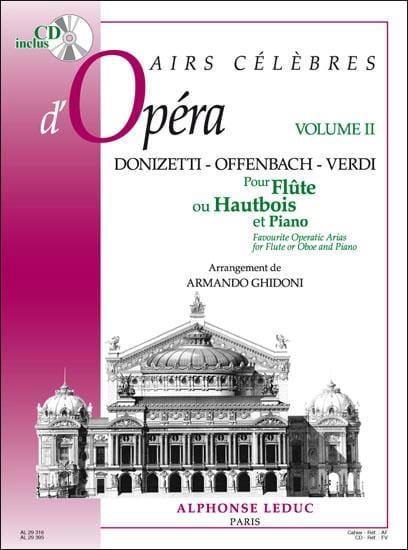 Armando Ghidoni - Opera Airs famosos - Volumen 2 - Flauta u Oboe - Partition - di-arezzo.es