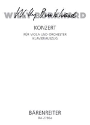 Concerto pour Alto - Willy Burkhard - Partition - laflutedepan.com