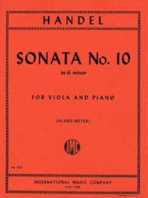 Sonata n° 10 in G minor - Viola - HAENDEL - laflutedepan.com