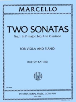 Benedetto Marcello - 2 Sonatas - N ° 1 In F Maj and N ° 2 In Sol Min. - Partition - di-arezzo.co.uk