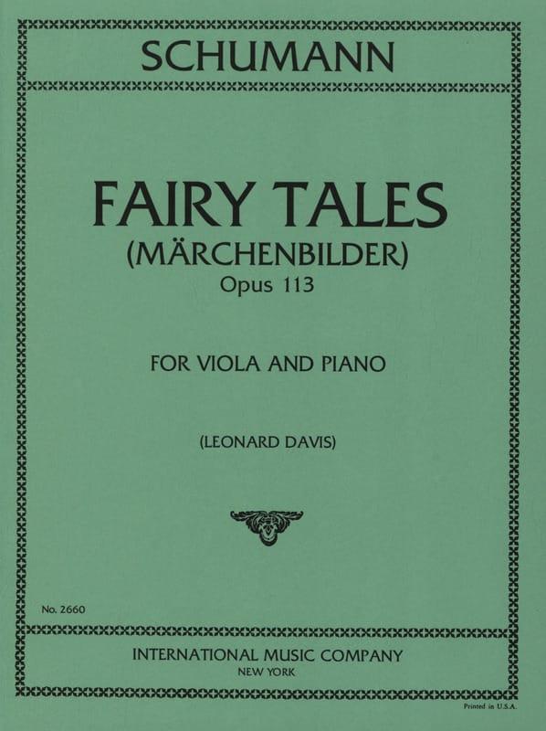SCHUMANN - Märchenbilder op. 113 - Partition - di-arezzo.es