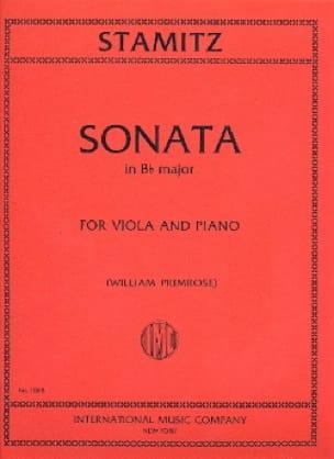 Carl Stamitz - Sonata en si bemol mayor - Partition - di-arezzo.es