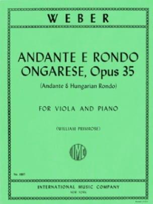 Andante e Rondo ongarese - Carl Maria von Weber - laflutedepan.com