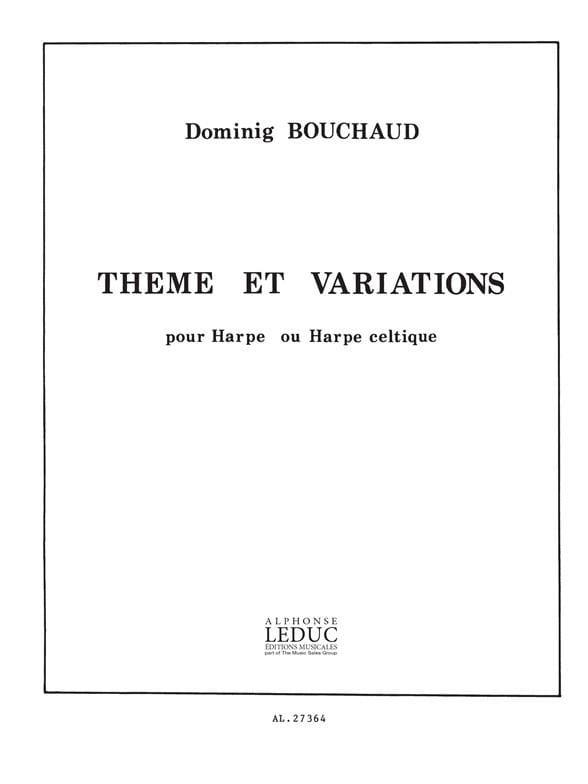 Dominig Bouchaud - Theme and Variations - Partition - di-arezzo.com