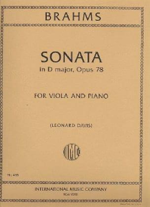 Sonata in D major, op. 78 - Viola - BRAHMS - laflutedepan.com