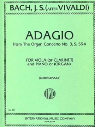 Adagio from the Organ Concerto n° 3 - laflutedepan.com