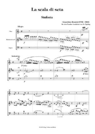 La scala di seta - Sinfonia - Oboe Klarinette Fagott - laflutedepan.com