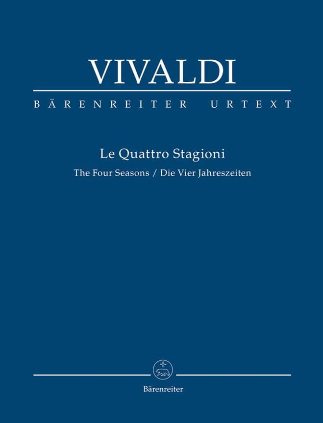 VIVALDI - The four Seasons - Partition - di-arezzo.com